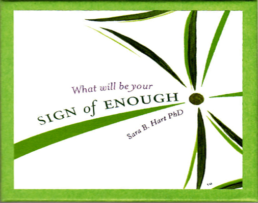 Sign of Enough Toolkit